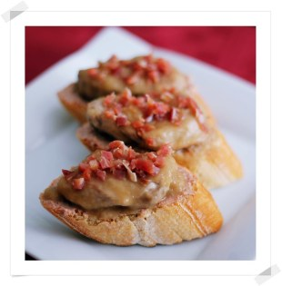 Tosta de Solomillo al Oloroso con Paté y Jamón