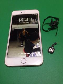 186_iPhone6Plusのフロントパネル液晶割れ&ホームボタンケーブル・ホームボタン延長ケーブル交換