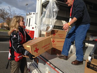Sandy Red Cross Response