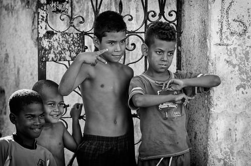 Cuban kids...La Habana, Cuba by Rey Cuba