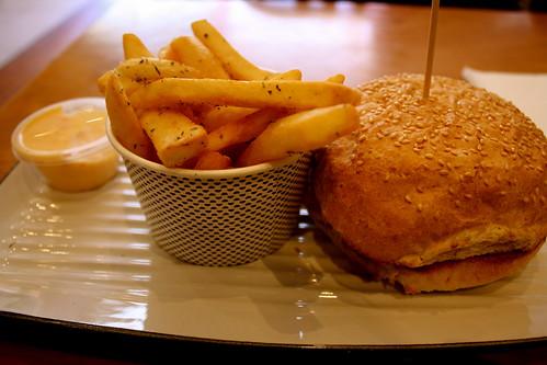Little Moo burger at Grill'd, St. Kilda