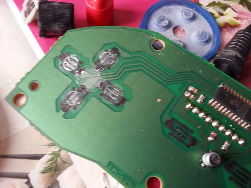 Pad Megadrive 6 boutons - dirty