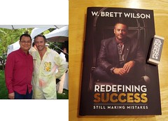 Brett & Kempton at 2010 Garden Party with book cover