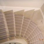 Carpet Runner And Stair Rods On Turned Stair 12 Bryan