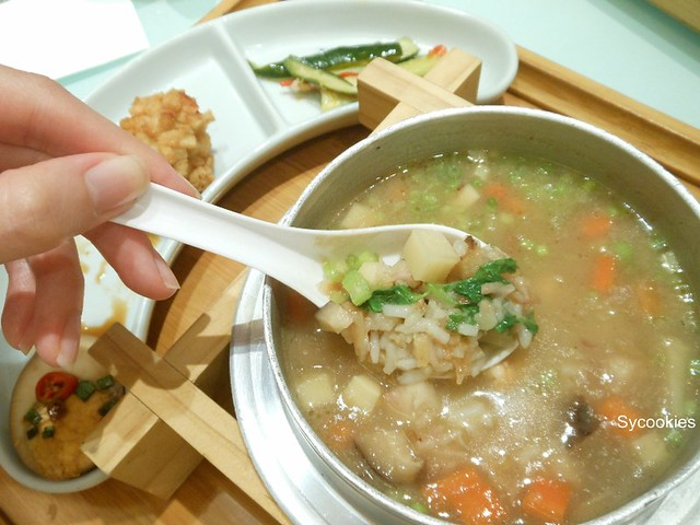 11. mix porridge set meal @ fong lye