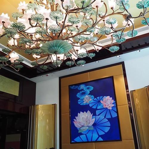 香港ディズニーランドホテル、クリスタルロータスにきました。