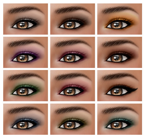 Geanna Skin Eyeshadows