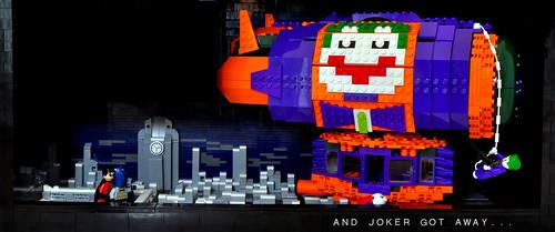 And joker got away...