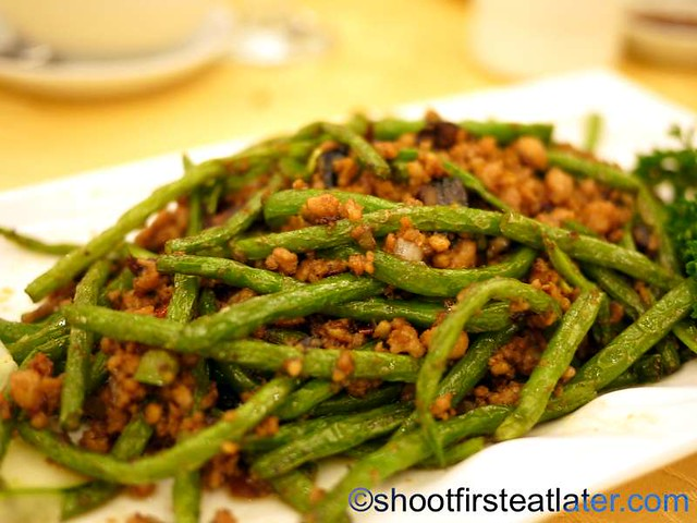 French beans with minced pork P380