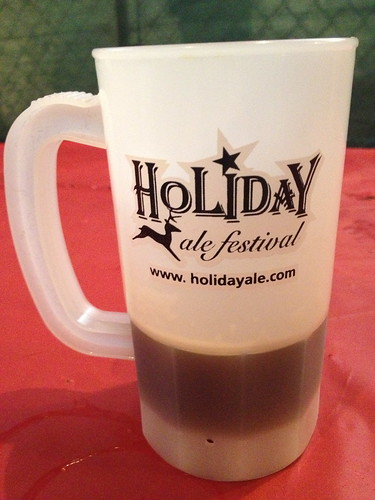 2012 Holiday Ale Festival mug