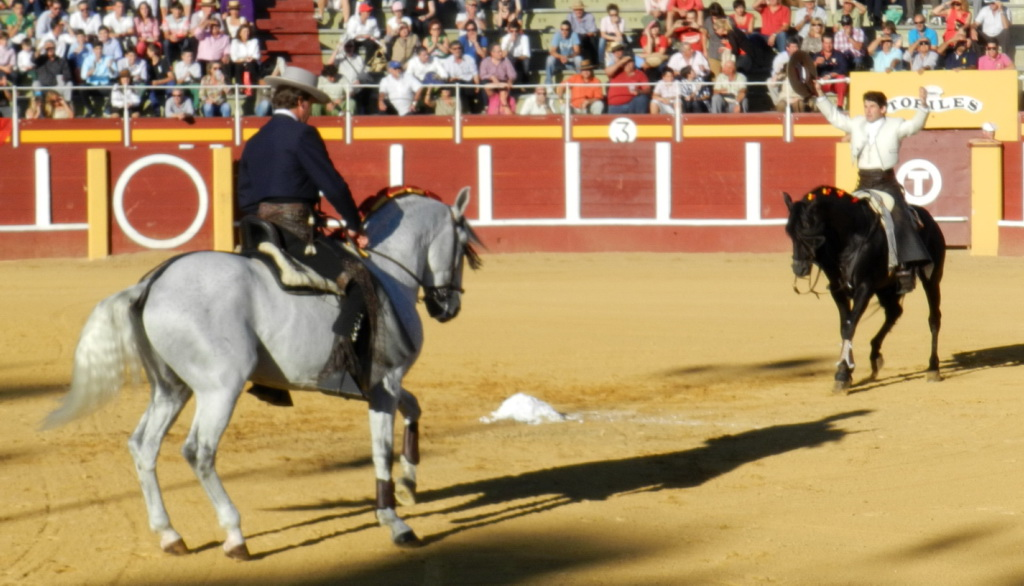 Caballos, Jinetes y Toros en el ruedo Fuengirola 2012 03