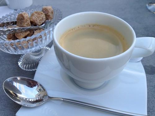 食後はコーヒー付き@Tiaras Cafe & Shop