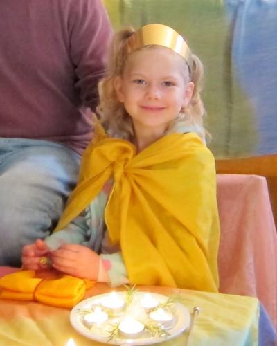 Calla 5th birthday celebration