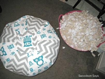 DIY Nursery: Ottoman Pouf - Swoodson Says