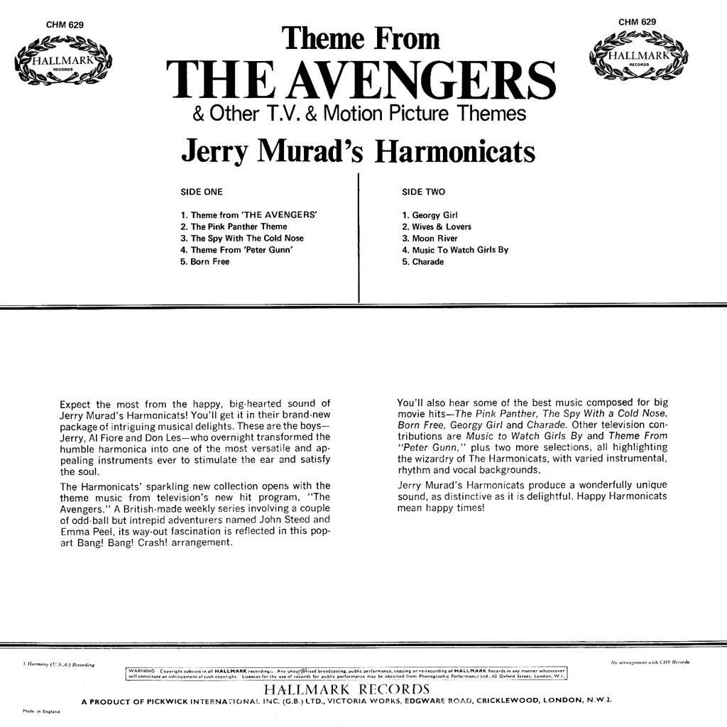 Jerry Murad - The Avengers
