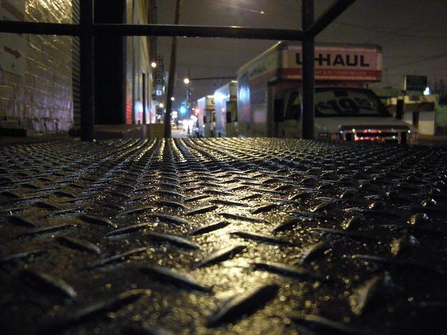 Diamond Plate on Washington Avenue