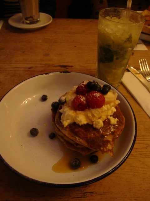 a treat at The Breakfast Club