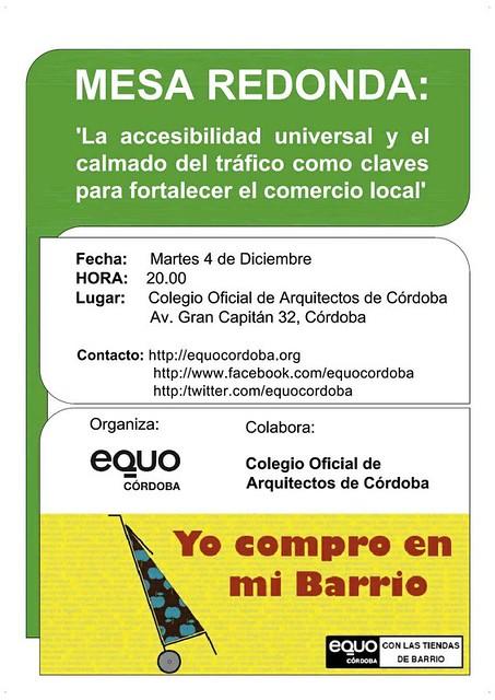 Mesa Redonda Accesibilidad en el Colegio Arquitectos Córdoba