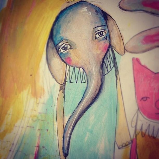 Elephant love :)