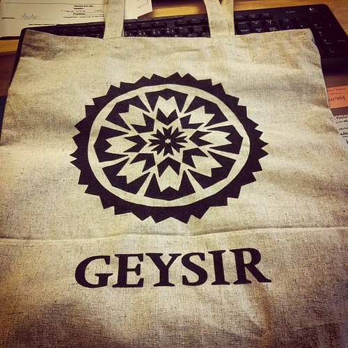 New and enviroment friendly #shopping #bag at #geysirstore #reykjavik #iceland I love mine!