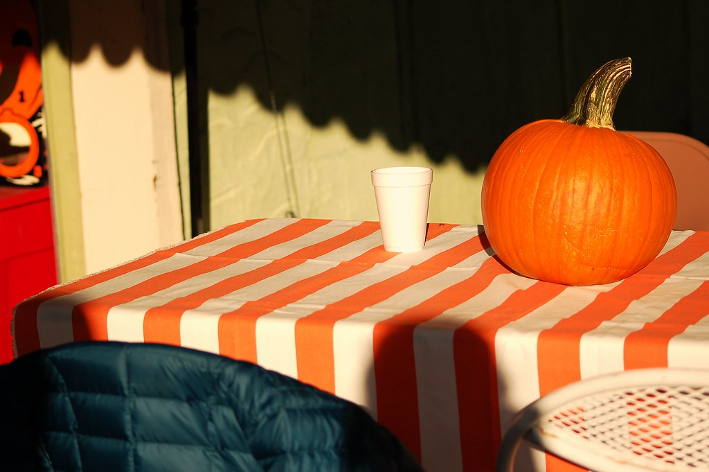 coffee for pumpkin