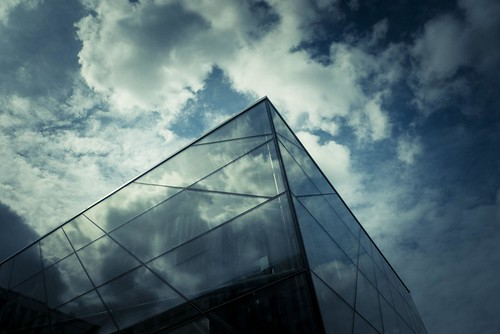 City Blues : The sky and the Cage (Brussels, Belgium) - Photo : Gilderic