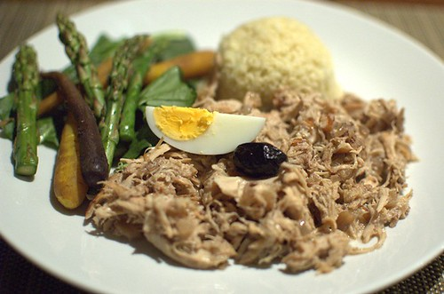 Gluten and dairy-free aji de gallina