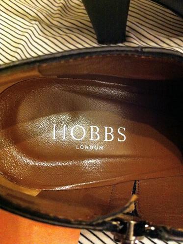 Hobbs boots inside