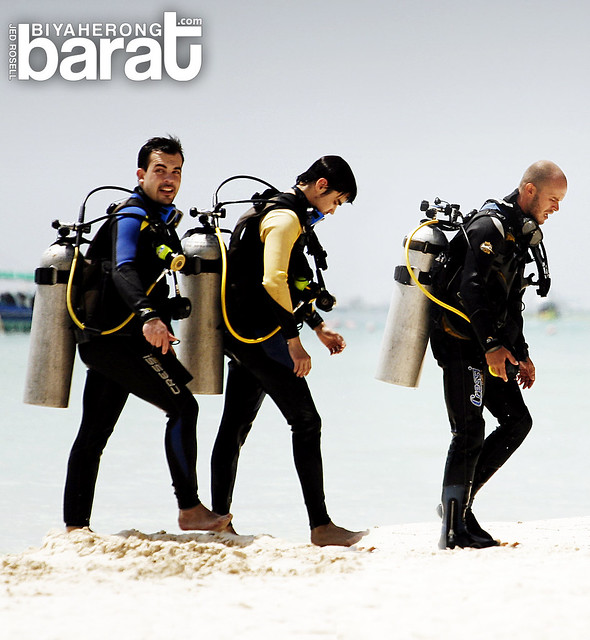 SCUBA diving in Boracay