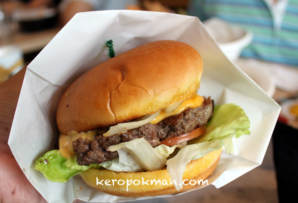 Omasake Burger @ The Grandstand