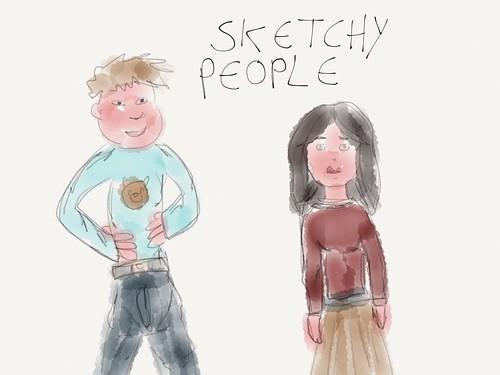 Sketchy people