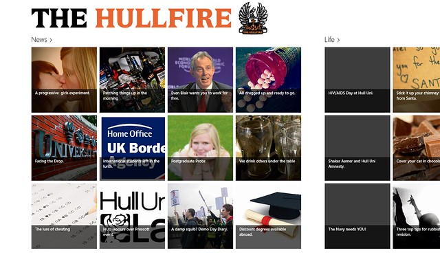 The Hullfire for Windows 8