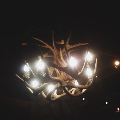 Antler Chandelier - iPhone Photography Project #iPP