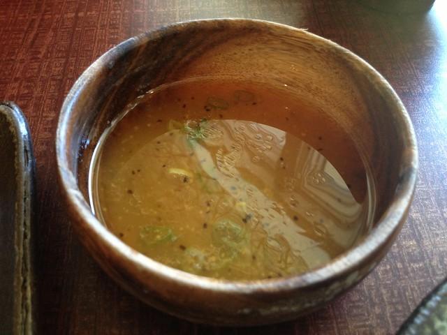 Salt and spring onion sauce - Kimukatsu