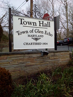 Glen Echo Town Hall