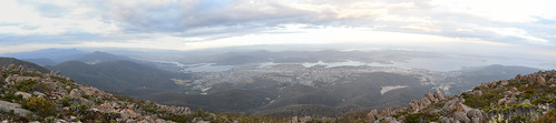 Panorama 7 Mt Wellington by gomagoti