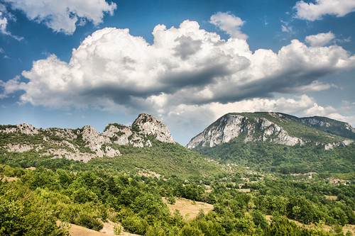 Near Neretva canyon