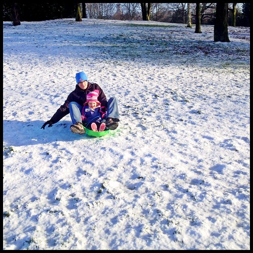 Snowy fun at Highfield's Park by rutty