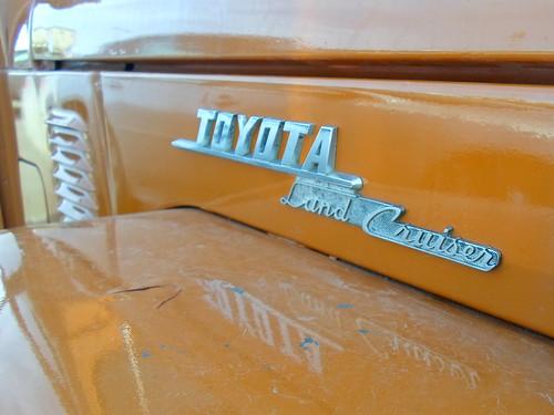 Toyota Land Cruiser badge