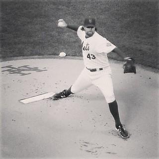 Thank you for three fun seasons & good luck in Toronto, R.A. Dickey. #mets #bluejays #baseball