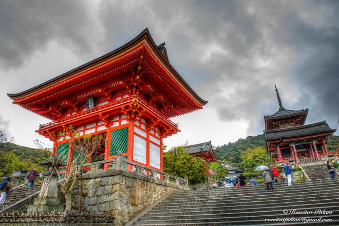 Rainy day in Kyoto