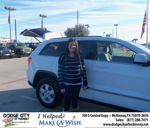 CONGRATULATIONS TO BRUCE A KEARNEY ON THE 2013 JEEP Grand Cherokee by Dodge City McKinney Texas