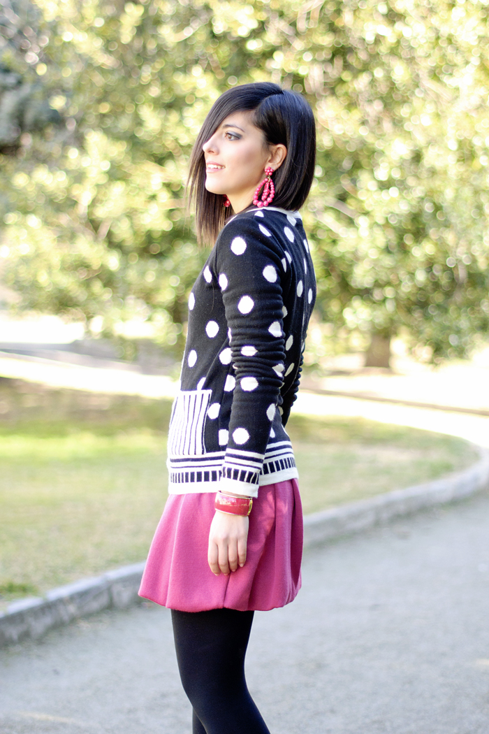 Pink and polka dots