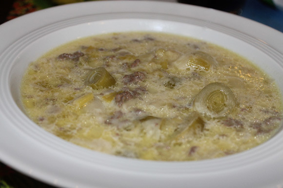Lauch-Käse Suppe