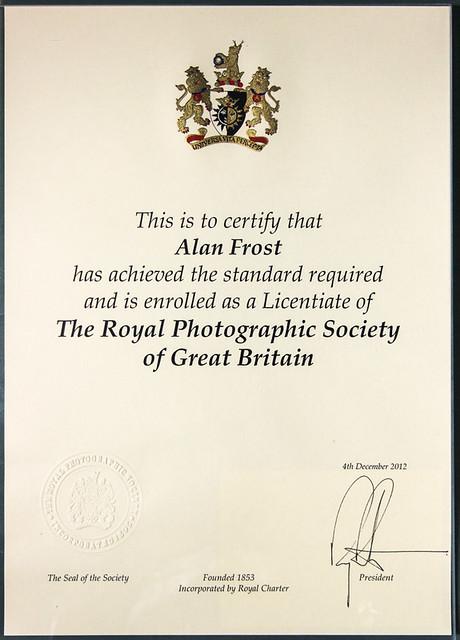 LRPS Certificate