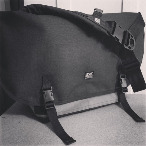 Messenger Bag by Archive Victor