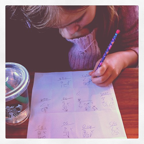 Homeschooling on the go.