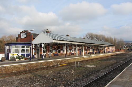 Stalybridge Station, Yorkshire platform