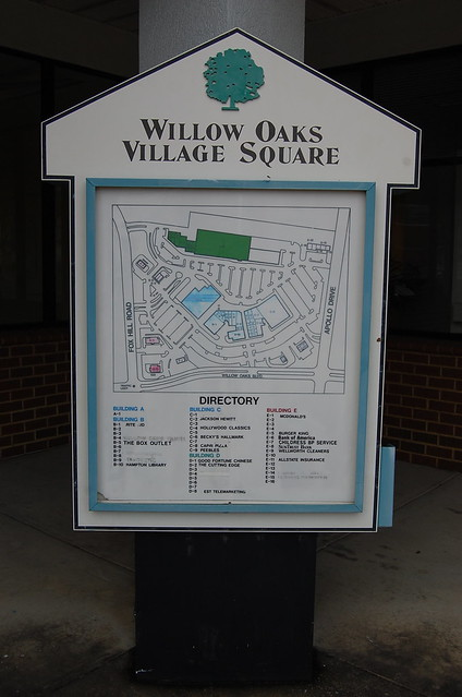 The sad widdle willow oaks shopping center