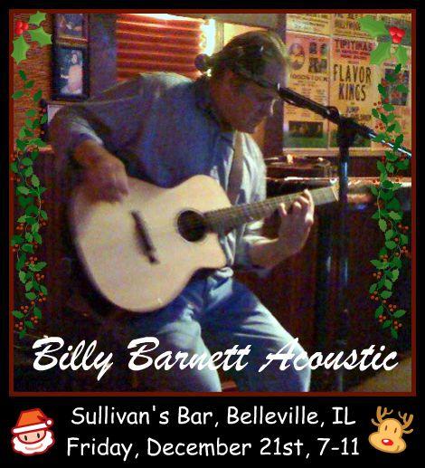 Billy Barnett Acoustic 12-21-12